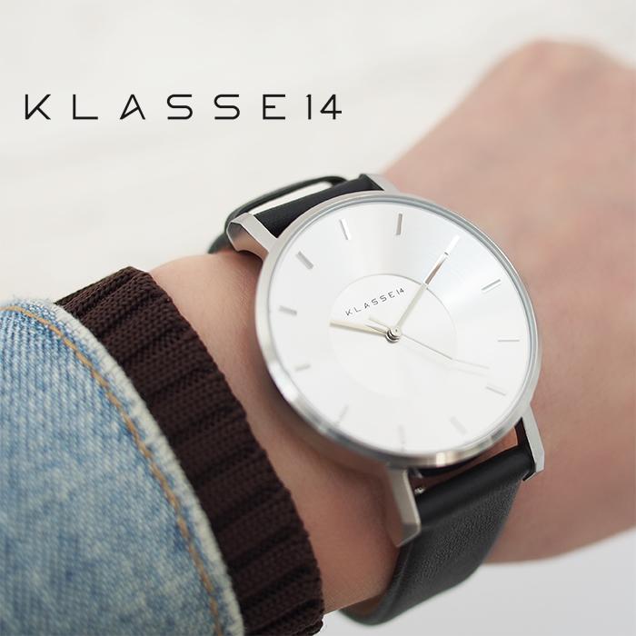 KLASSE14 クラス14 腕時計 メンズ レディース 36mm 42mm VOLARE シルバー×ブラック クラスフォーティーン