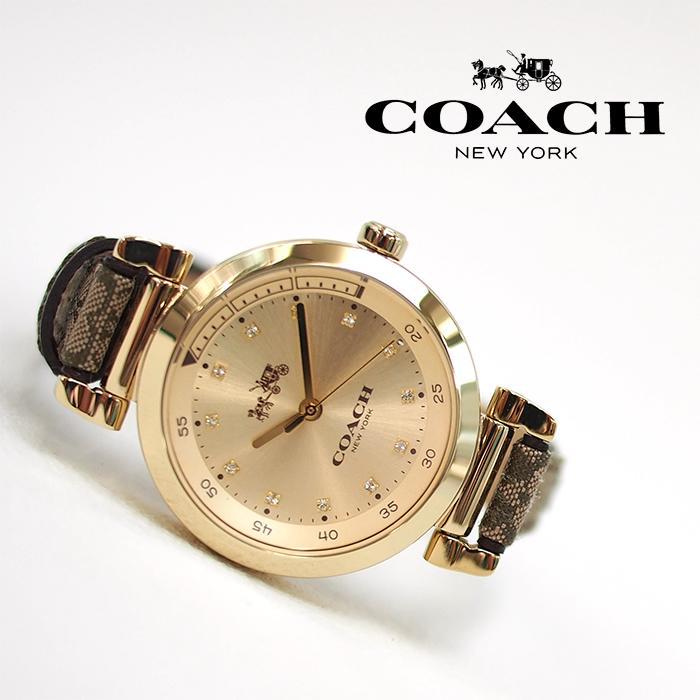 COACH コーチ レディース腕時計 革ベルト 1941 SPORT 1941 スポーツ ブラウンシグネチャー ウォッチ 14502539