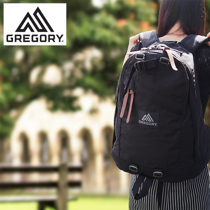GREGORY グレゴリー DAY PACK 26L バックパック ブラック BACK PACK リュックサック アウトドア デイパック デイリーユース