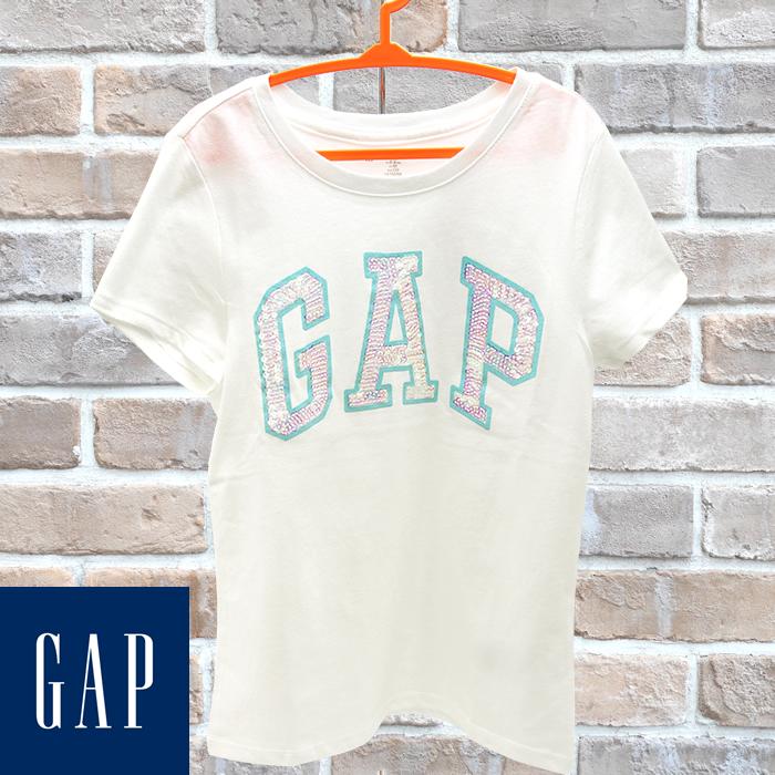 7959f53eb0137c GAP Kids ギャップ キッズ 半袖Tシャツ ホワイト 110cm 120cm 130cm 160cm 子供服 子供用 キッズ ジュニア ...