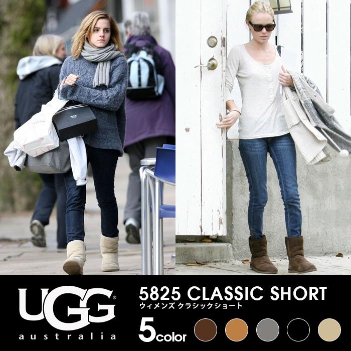 Ugg Womens Classic Short Black Boots 5825
