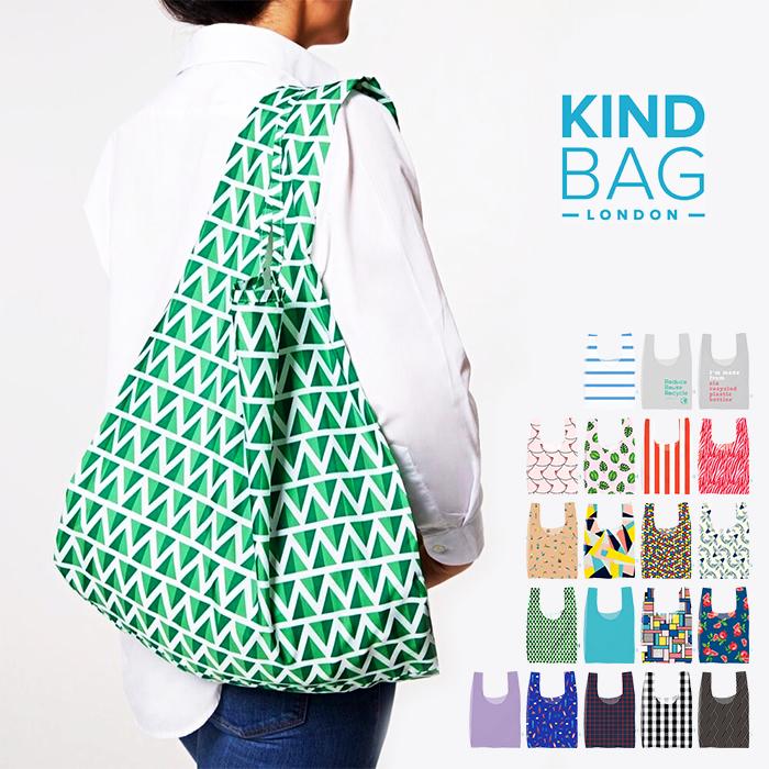 レジカゴ 新作入荷!! ショッピングバッグ メール便可 セール品 Kind Bag カインドバッグ レジバッグ 全20デザイン トートバッグ エコバッグ 折りたたみ 折り畳み