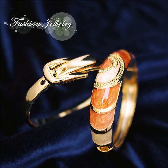 受賞店 レディース バングル 全2デザイン 安い ゴールド ブレスレット