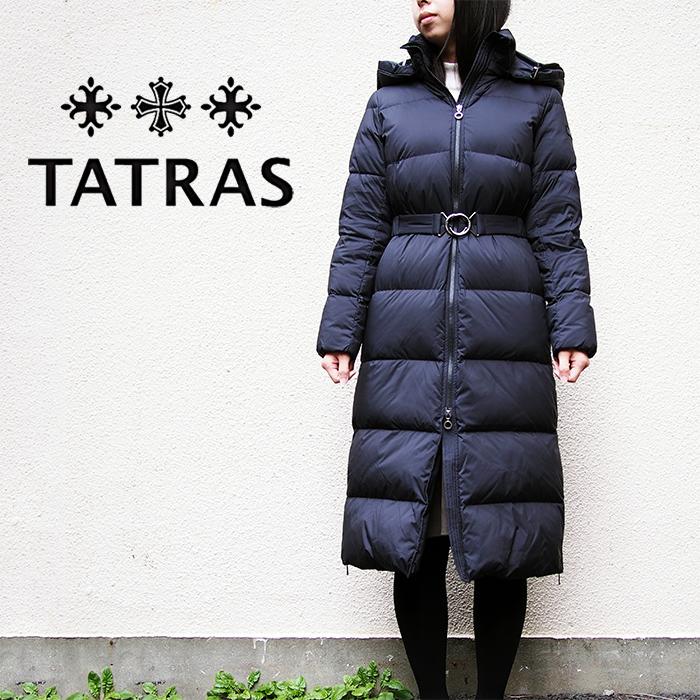 TATRAS タトラス レディース ダウンコート LTK19A4163 SESTRIERE BLACK/ブラック タトラス ダウン レディース
