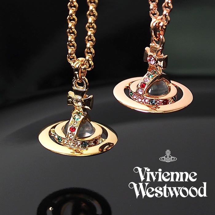 2021SS春夏最新作 Vivienne ※ラッピング ※ Westwood ヴィヴィアンウエストウッド ペンダント ネックレス 安心の定価販売 63020098 全2色 PETITE PENDANT レディース ORB オーブ NEW アクセサリー