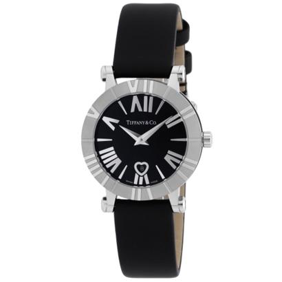 Tiffany Z1300.11.11A10A41A ティファニー Atlas レディース腕時計ブラック×シルバー