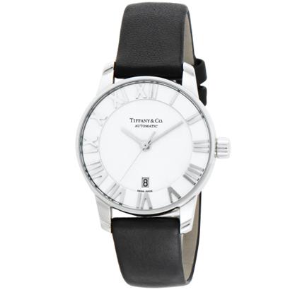 Tiffany Z1830.68.10A21A50A ティファニー Atlas Dome レディース腕時計ブラック×シルバー