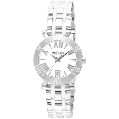 Tiffany Z1300.68.11A20A00A ティファニー Atlas レディース腕時計ホワイト×シルバー