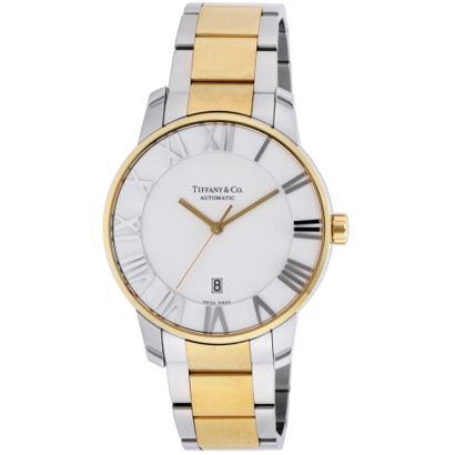 Tiffany Z1810.68.15A21A00A ティファニー Atlas Dome メンズ腕時計イエローゴールド×シルバー
