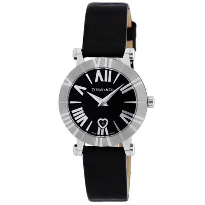 Tiffany Z1300.11.11A10A71A ティファニー Atlas レディース腕時計ブラック×シルバー