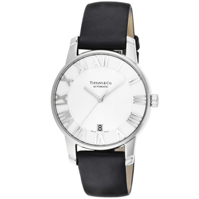 Tiffany Z1800.68.10A21A50A ティファニー Atlas Dome メンズ腕時計ブラック×シルバー