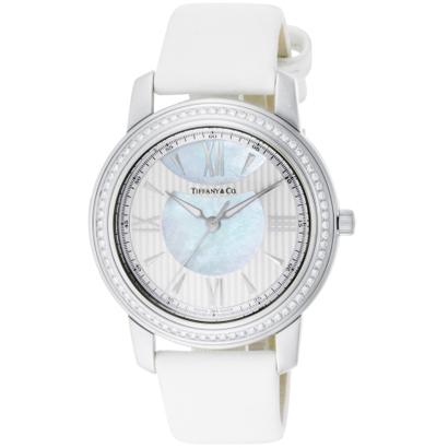 Tiffany Z0046.17.10B91A40A ティファニー Mark ユニセックス腕時計ホワイト×シルバー