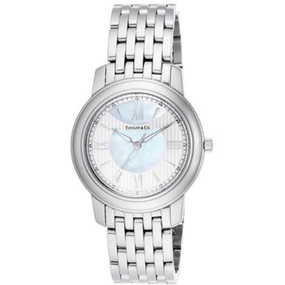 Tiffany Z0046.17.10A91A00Aティファニー Mark ユニセックス腕時計ホワイトパール×シルバー