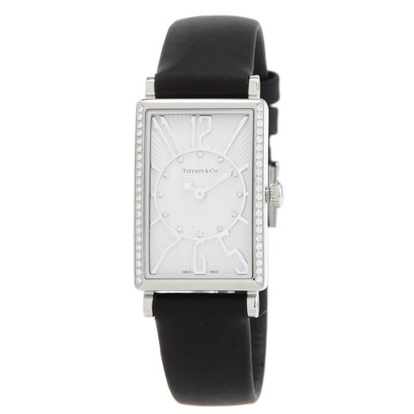 Tiffany Z3001.10.10E21C68Aティファニー Gemea レディース腕時計ブラック×シルバー