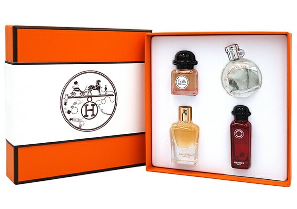 HERMES PARFUMS DELUXE REPLICAS GIFT SETエルメス デラックス レプリカ 香水 ギフトセット