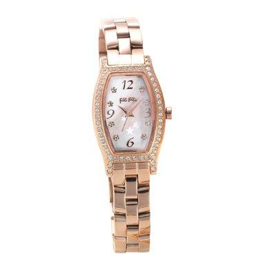 FOLLIFOLLIE WF8B026BPZフォリフォリ レディース腕時計ステンレス×ジルコニアゴールド×ピンクパール