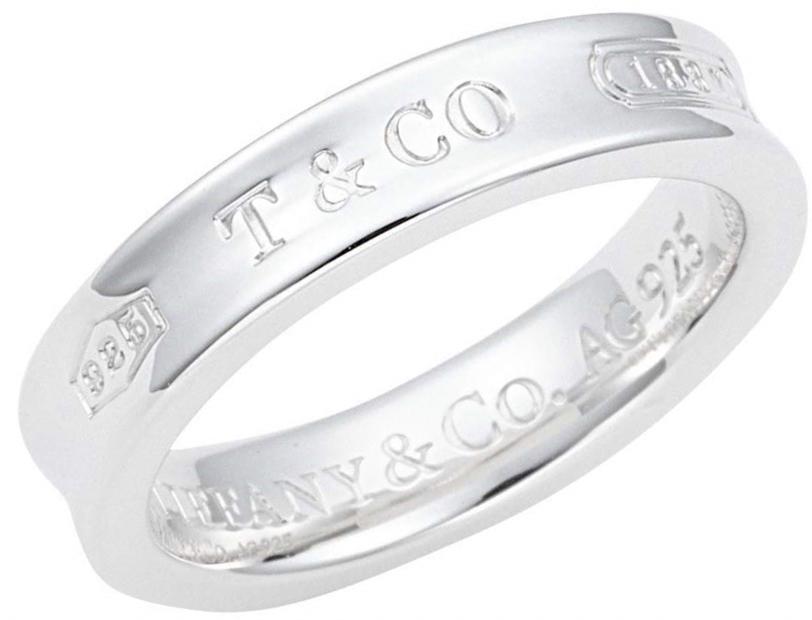 Tiffany&Co. 22993798 1837 COLLECTIONティファニー 1837シリーズナローリング 18.5号 スターリングシルバーTiffany&Co.純正BOX 保護袋 ショップバッグ