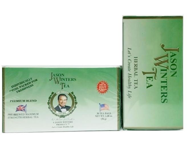 JASON WINTERS TEAジェイソン ウィンターズ・ティー日本専用正規品 プレミアムブレンドプレミアム ハーブティー2箱 (36g 1.2g×30袋)