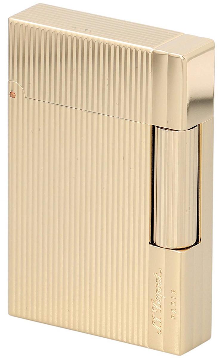 S.T.Dupont 18146 GATSBY NEW COLLECTION エス・テー・デュポン ガスライターギャツビー ニューコレクションゴールド(ゴールドメッキ仕上げ)※対応ガス/グリーンラベル