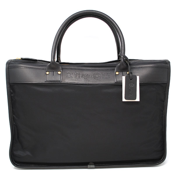FELISI 1731-DS-0041フェリージ ビジネスバッグ ブリーフケースナイロン×レザーブラック×ゴールド※取寄品