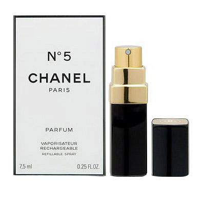 CHANEL No.5 PARFUMシャネル No.5 香水パルファム 7.5ml バース スプレー