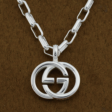 GUCCI 295710-J8400-8106SILVER NECKLACEMADE IN ITALY イタリア製グッチ アクセサリー ネックレスシルバー925 銀製品