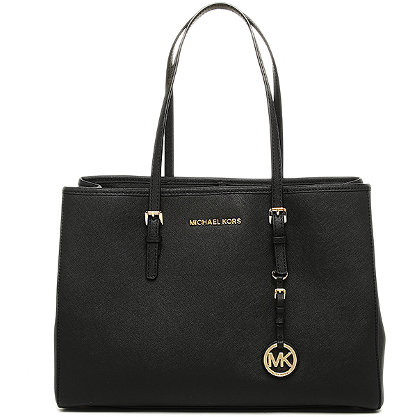 171710ecf2 MICHAEL KORS SELMA 30T3GTVT7L-001-Y Michael Kors tote bag leather with  saffiano leather BLACK