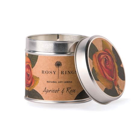 Rosy Rings Forest Soy tin