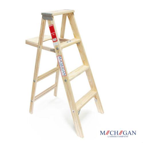 Wood Step Ladder size 4/ウッドステップラダー サイズ 4 【脚立 ラダー アメリカ インダストリアル 男前インテリア 工業系】
