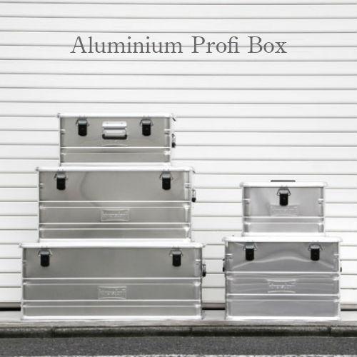 """Aluminium Profi Box """"91L""""/アルミニウムプロフィーボックス"""