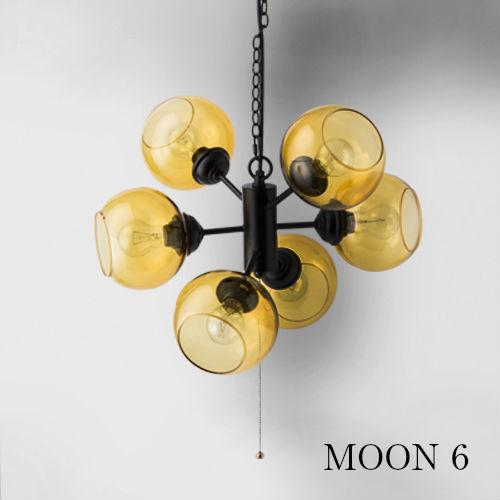 MOON 6/ムーン6【HERMOSA 湘南 西海岸 スポットライト ランプ 天井照明 ペンダントランプ カフェ アメリカ】
