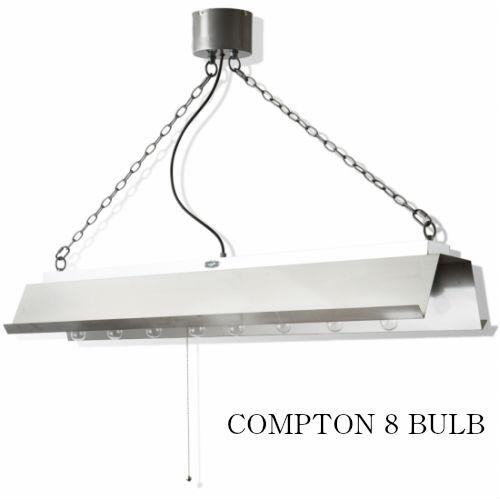 COMPTON 8 BULB/コンプトン8バルブ【天井照明 ビンテージ インダストリアル 男前インテリア 塩系インテリア 工業系 照明 ハモサ】