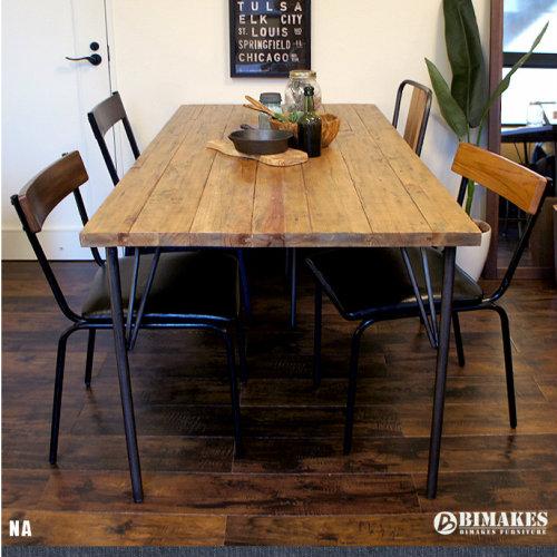 BIMAKES Curtis Dining Table 160/ビメイクスカーティスダイニングテーブル160【ダイニングテーブル 木製 古材 ビンテージ インダストリアル 男前インテリア】