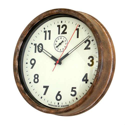 HANFORD WALL CLOCK/ハンフォードウォールクロック【時計 壁掛け アメリカ ビンテージ インダストリアル カフェ 贈り物 北欧】