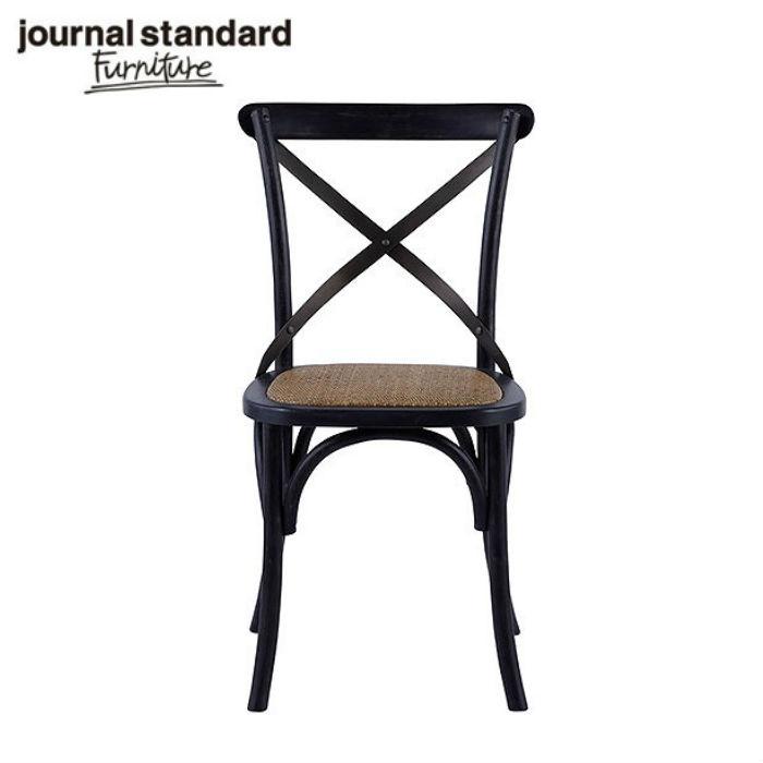 journal standard Furniture BEACON CHAIR BLACK/ジャーナルスタンダードファニチャービーコン チェアブラック【チェア レザー スチール 男前 ウッド インダストリアル 男前インテリア 工業系】