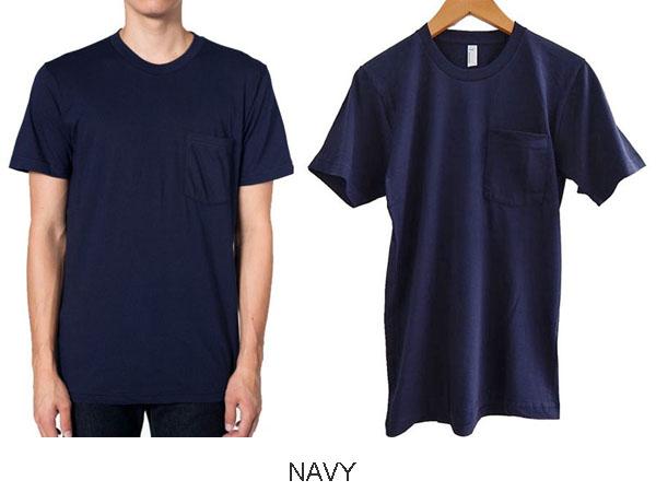 아메리칸 어 패 럴 포켓 T-셔츠 AMERICAN APPAREL 2406