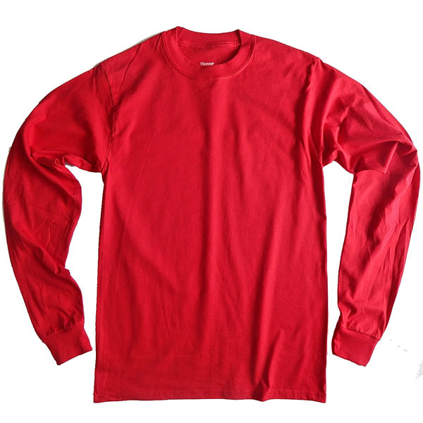 16f598a8 ... HANES BEEFY T SHIRT Hanes T Beefy plain men's long sleeve t-shirt ...