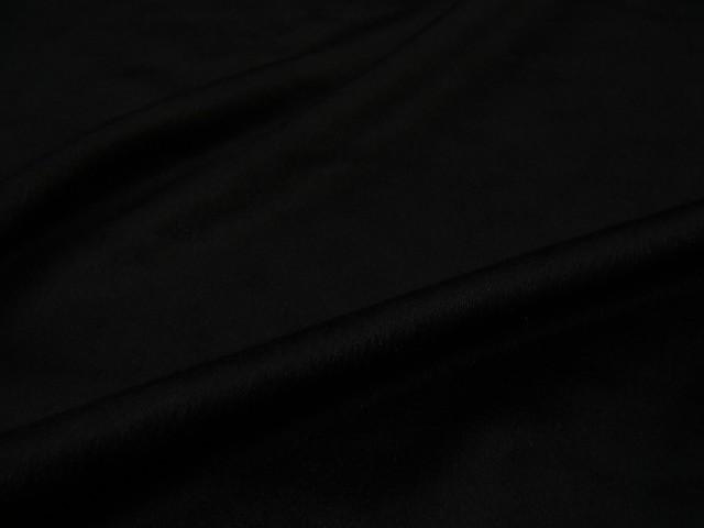 ピュアカシミア! [JULES TOURNIER(ジュール トゥルニエ)] カシミア100% カシミヤ◆ 高級ブランド生地 ◆ 【 アウトレット 】【 訳あり 】【 2.1m着分で 31,500円 】★ フランス製 カシミア生地 ♪ ブラック ♪≪ インポート 輸入 舶来 黒色 ≫ s11ke279 JUE