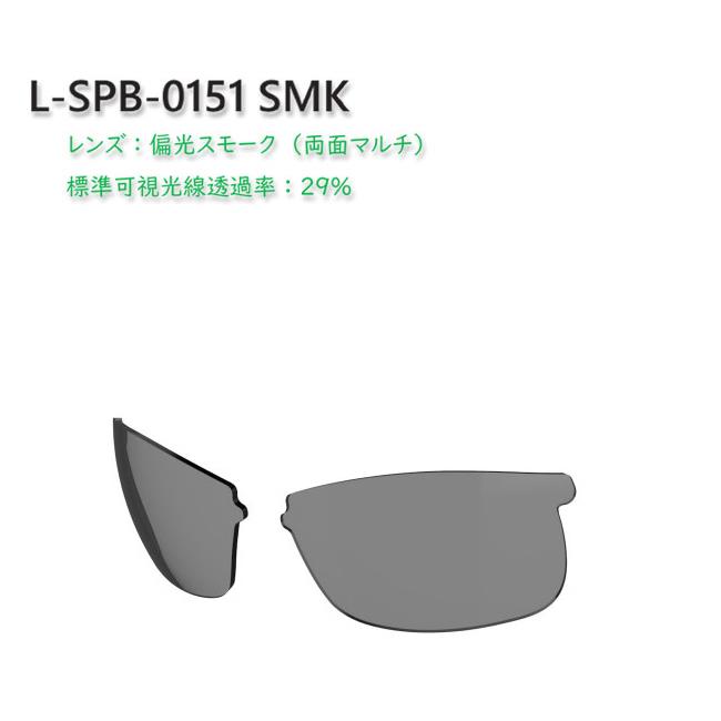 【SWANS/スワンズ】スプリングボック用スペアレンズ L-SPB 交換レンズ 偏光レンズ