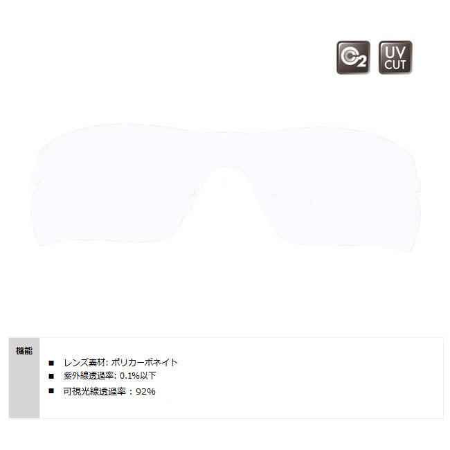 【SWANS/スワンズ】STRIX・H用スペアレンズ L-STRIX-H-0412(CLA) 137051 レンズのみ サングラス スポーツサングラス 交換レンズ