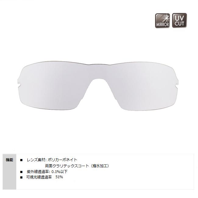 【SWANS/スワンズ】STRIX・H用スペアレンズ L-STRIX-H-0712(CL/SL) 128226 ミラーレンズ サングラス スポーツサングラス 交換レンズ