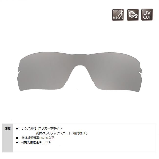 【SWANS/スワンズ】STRIX・H用スペアレンズ L-STRIX-H-3602(SMSI) 128196 ミラーレンズ サングラス スポーツサングラス 交換レンズ