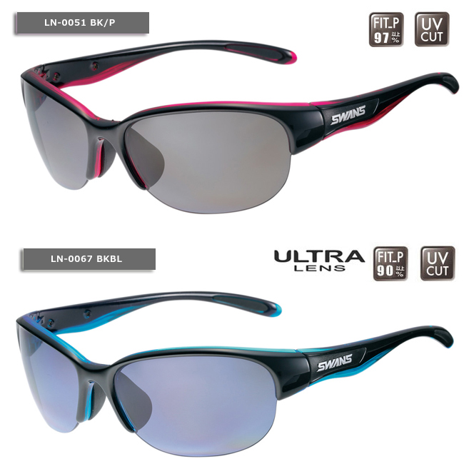 【SWANS/スワンズ】LUNA-P サングラス 偏光レンズ スポーツサングラス 偏光サングラス レディス ルナシリーズ