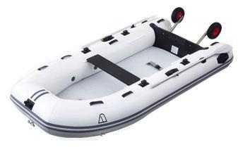 【Achilles/アキレス】Aqua Shark PVseries エアーフロアモデル ライトドーリー付き PV-300DX インフレータブルボート ゴムボート