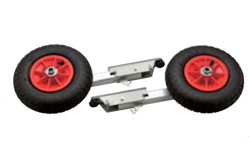 【JOYCRAFT/ジョイクラフト】オリジナルランチングホイールS(スライド式)LWS-6 タイヤ 32cm オプションパーツ