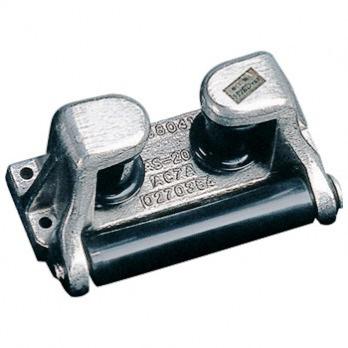 大決算セール 100%品質保証 耐摩耗性に優れた高硬質ウレタン使用のローラー ニッコー機材 プラ三方ローラー Q8T-NKK-001-026 GP-150