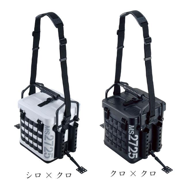 【DAIICHISEIKO/第一精工】タックルキャリアー MS2725 DAIICHI-MS2725 タックルボックス 釣りバック セミハードバッカン