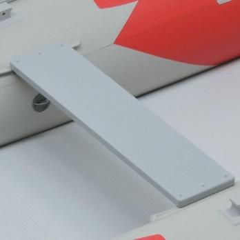 【Achilles/アキレス】PVC用スライド椅子板 60cm D-600SSL PVCS専用 イス オプションパーツ