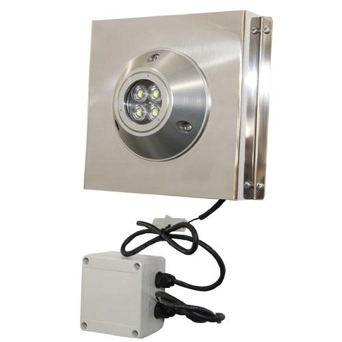 マリン用LEDライト 水中ライト LED-20W BE リガーマリン