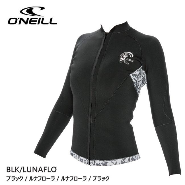 フロントジップ クラシック レディース O'NEILL 17 (オニール) 1.5/1mm スーパーライト LSジャケット